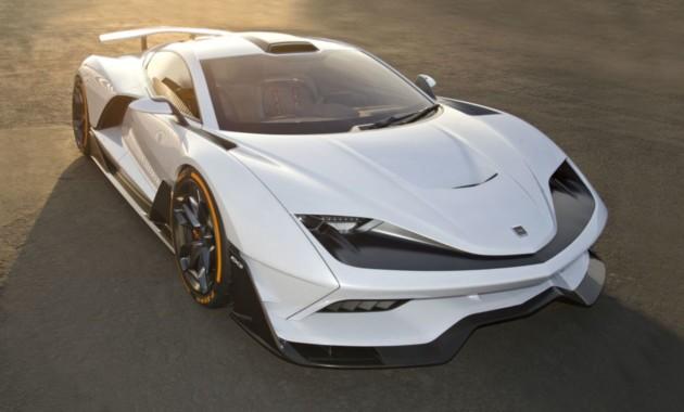 На автомобильном салоне вЛос-Анджелесе представили 1 150-сильный гибид FXE отAria Group