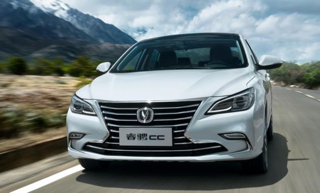Китайская Changan начала продажи купеобразного седана RaetonCC