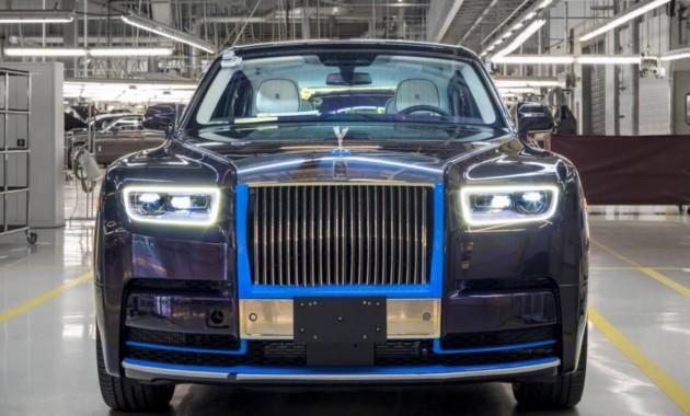 1-ый экземпляр нового Роллс Ройс Phantom продадут нааукционе