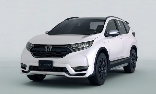 Хонда  представит вТокио спортивный кроссовер CR-V Custom Concept