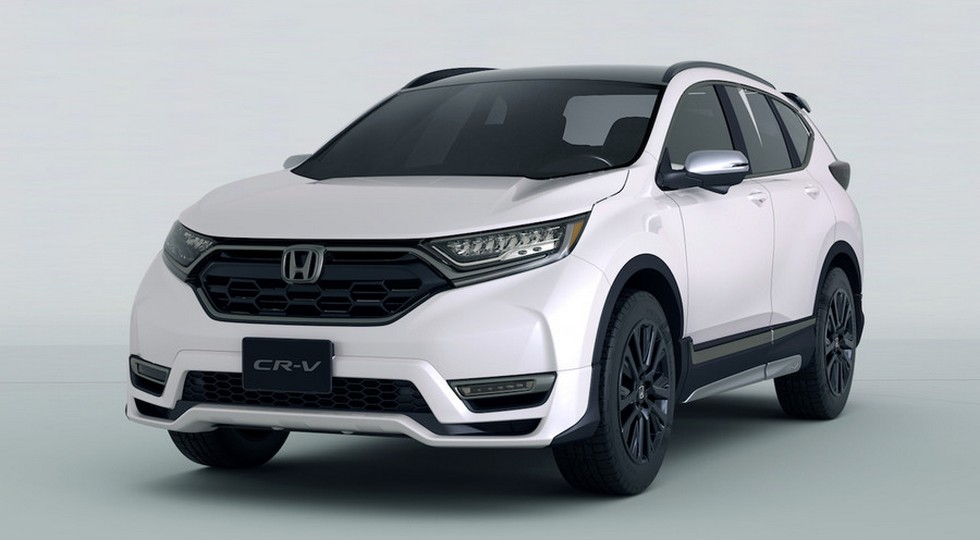 На фото: Honda CR-V Custom Concept