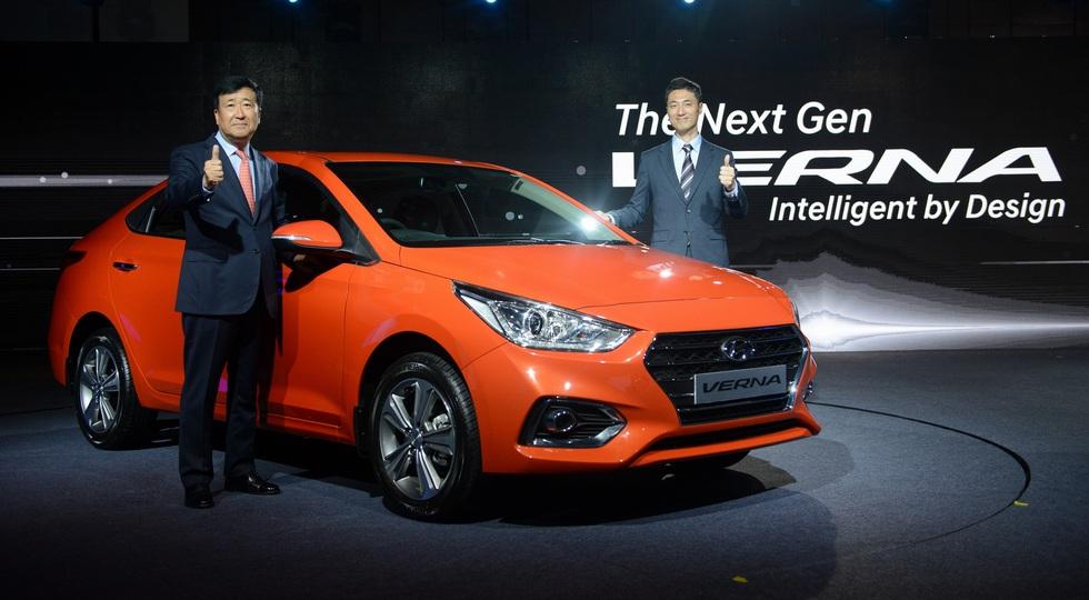 На фото: Hyundai Verna