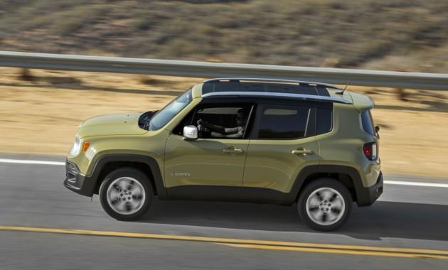 Улучшенный Jeep Renegade получит оптику встиле Wrangler
