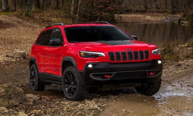 Компания Jeep представила обновлённый дизайн кроссовера Cherokee