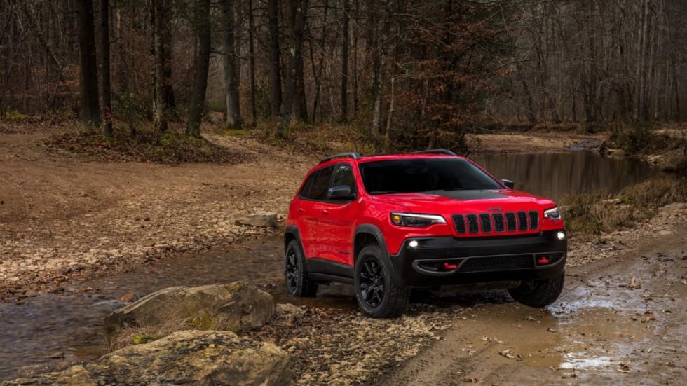 Обновленный Jeep Cherokee Trailhawk