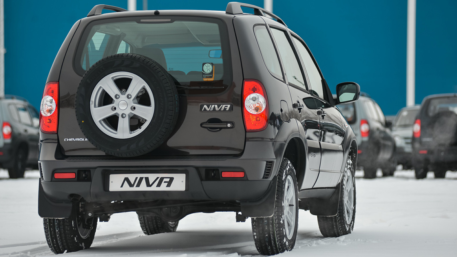 На Chevrolet Niva объявлена январская скидка class=