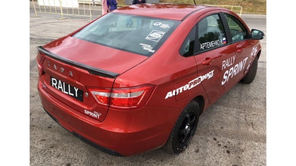 Стартовали работы посозданию Лада  Vesta Rally Sprint