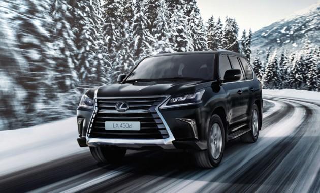 Лексус объявила спецпредложения напокупку авто Лексус вначале зимы