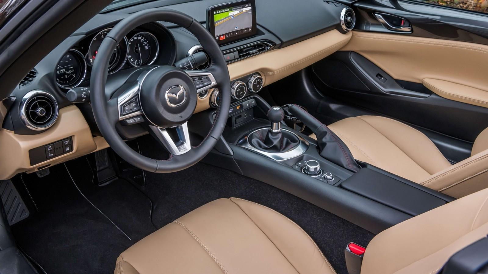 Родстер Мазда MX-5 выйдет вспортивной версии Z