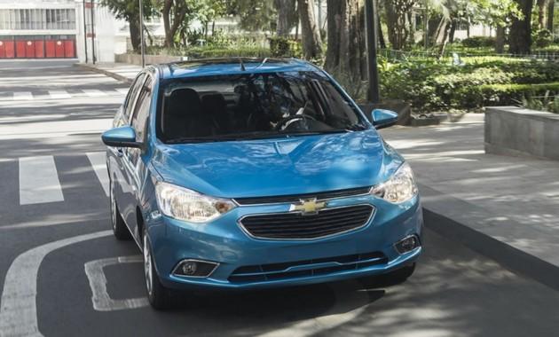 Компания Шевроле официально презентовала «новый» седан Aveo