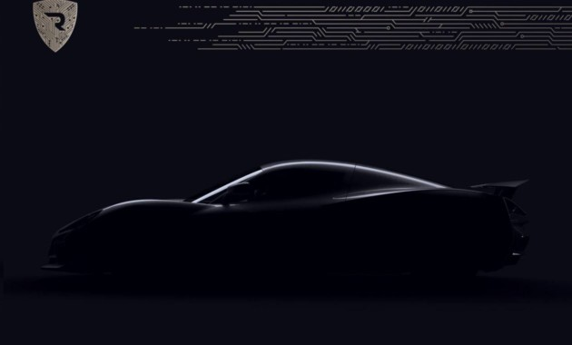 Rimac презентовал концептуальный гиперкар Concept Two