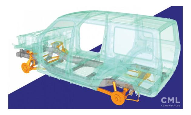 Студенты случайно показали шасси нового УАЗ Патриот