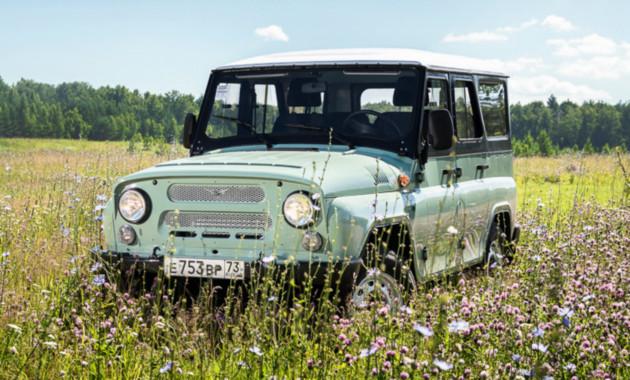 Легендарный вседорожный автомобиль УАЗ-469 отмечает 45-летний юбилей