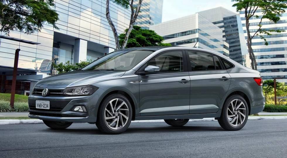 На фото: Volkswagen Virtus