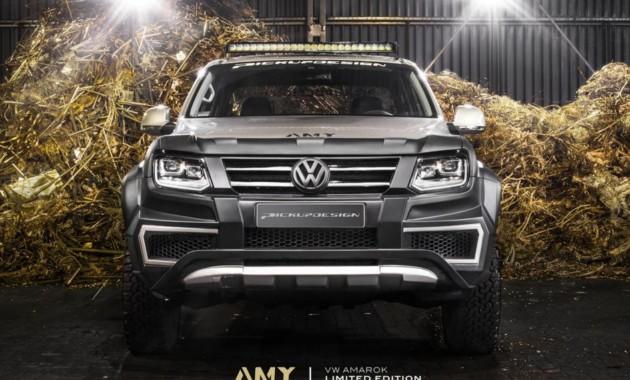 Тюнинг-ателье Carlex Design представило усовершенствованный VW Amarok