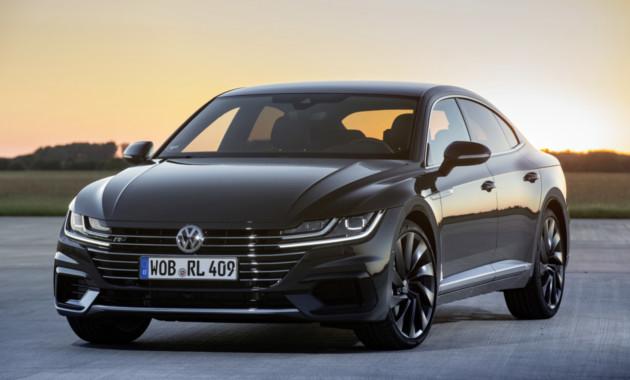VW Arteon Rполучит движок на400 «лошадок»