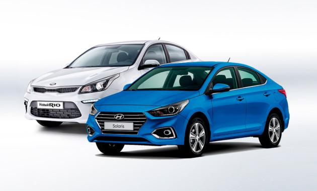 Результаты продаж новых легковых машин в столице за прошедший год