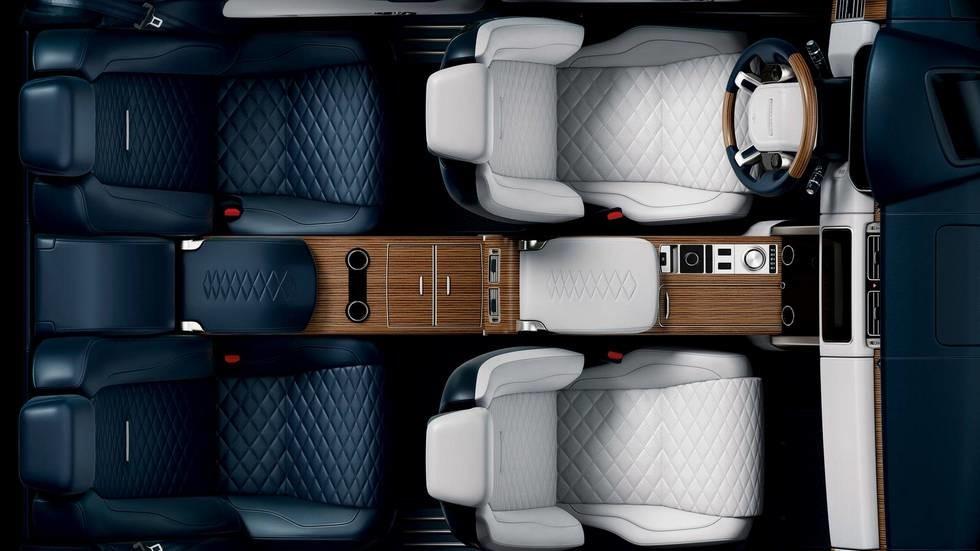 Фото интерьера Range RoverSV Coupe