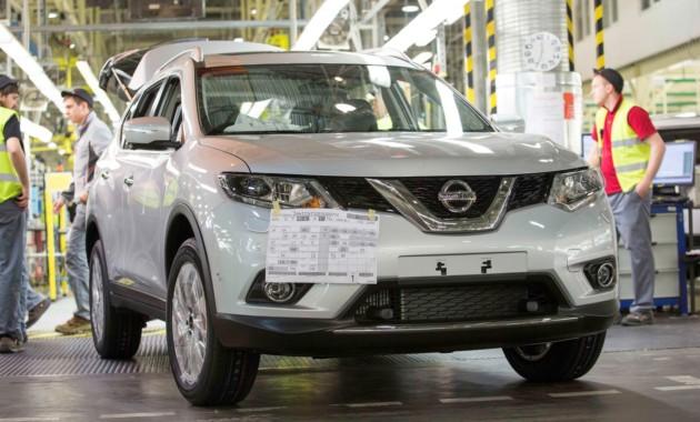 10ЯнвВ Санкт Петербурге выпустили юбилейный автомобиль Nissan