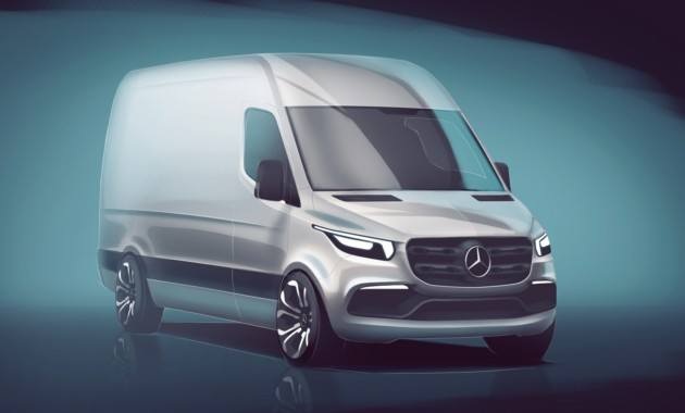 Новый Mercedes-Benz Sprinter: появился свежий видеотизер модели