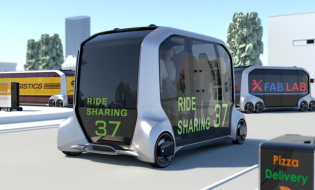 Тойота представила мобильную платформу e-Palette