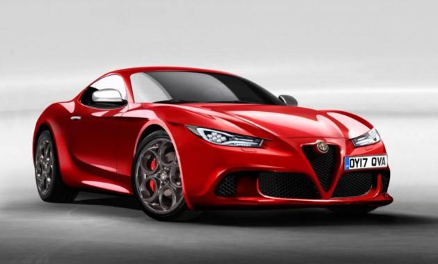 Альфа Ромео выпустит новый спортивный автомобиль 6C к 2020г.