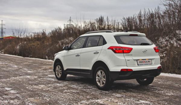 Бюджет в топе: тест-драйв моноприводной Hyundai Creta с 1,6 и механикой