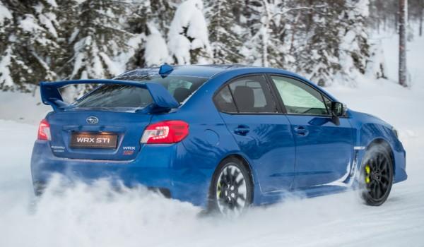 Кайф без LSD: ледовый тест-драйв обновленной Subaru WRX STI 2018