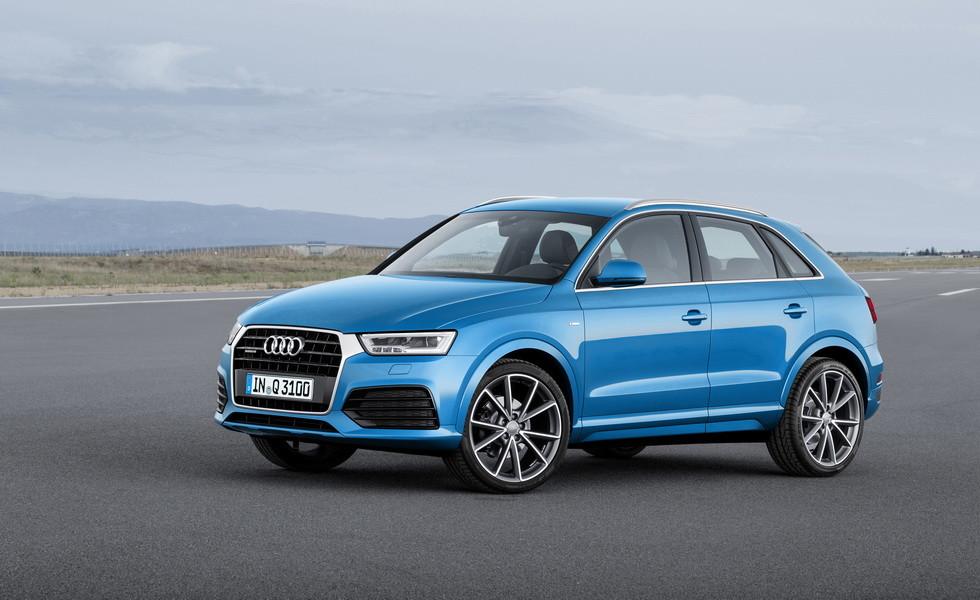 Дорожная карта Audi 2018: A1 Sportback, SQ2, и новый Q3