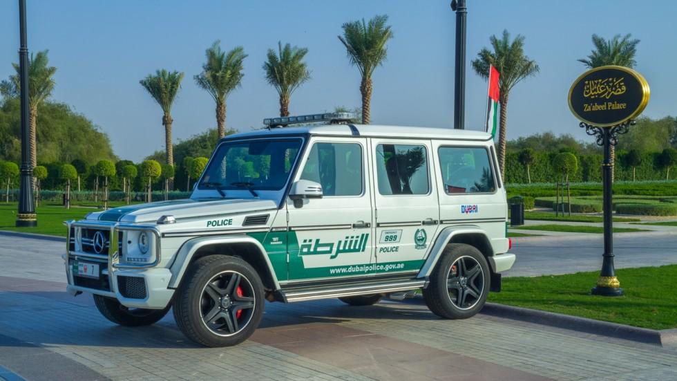 Dubai, United Arab Emirates, 15.11.2015 Sunny day in Urban city,