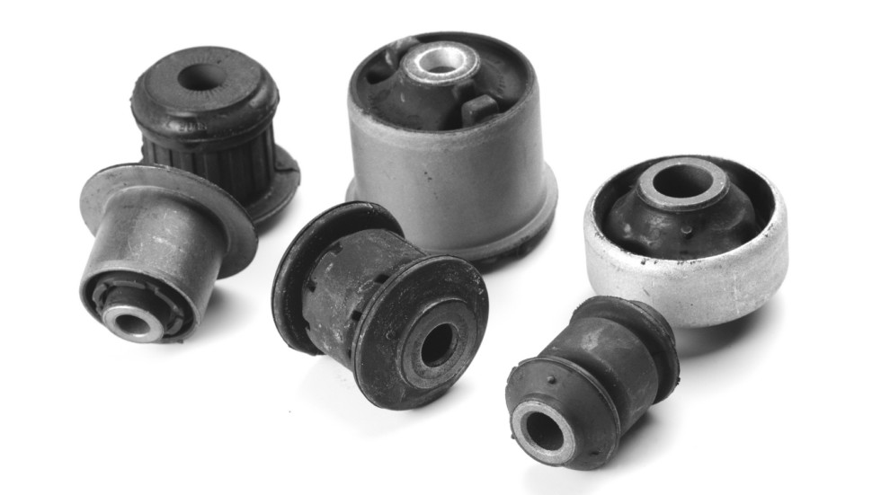 auto parts isolated on a white background