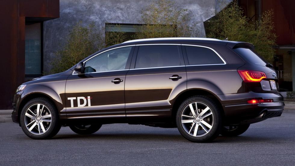 Дизельная Audi Q7