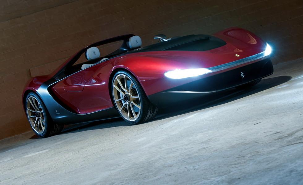 Концепт Ferrari Sergio
