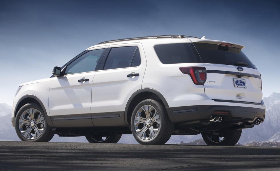 Ford Explorer текущего поколения