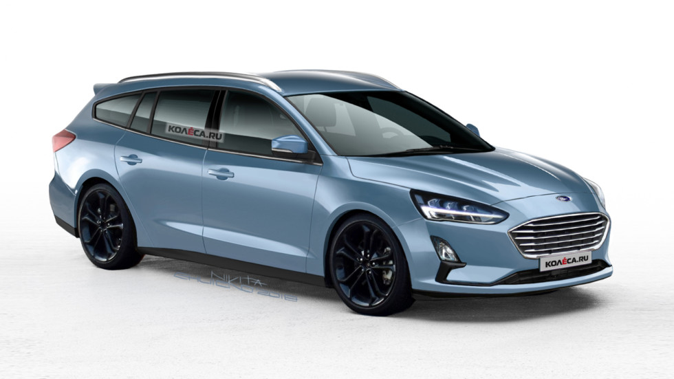 Ford Focus Wagon front2