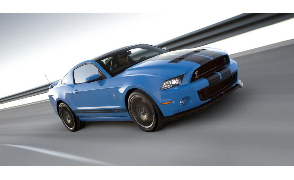 Прошлое поколение Ford Mustang Shelby GT500 2013
