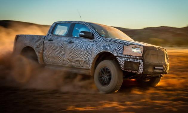 Ford Ranger Raptor показали в новом тизерном видео