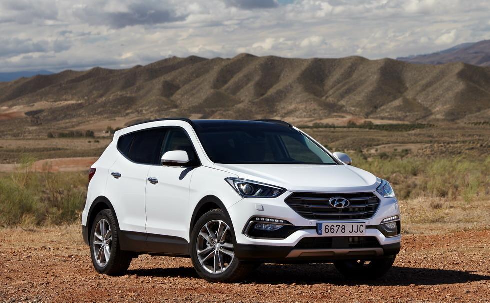 Hyundai Santa Fe 2017