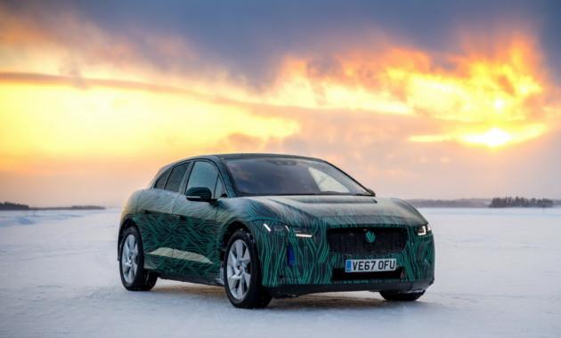 Jaguar I-Pace сможет заряжать батарею на 80% за 45 минут