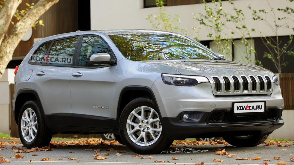 Jeep Cherokee front1
