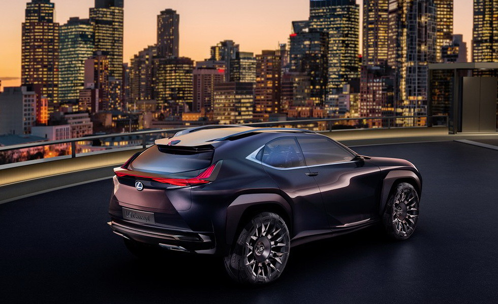 Концепт Lexus UX