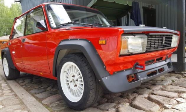 11ЯнвВ Эстонии продают редчайшую Lada VFTS по бросовой цене
