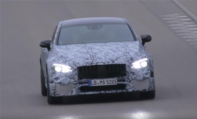Новый Mercedes-AMGGT Sedan почти готов кпрезентации вДетройте
