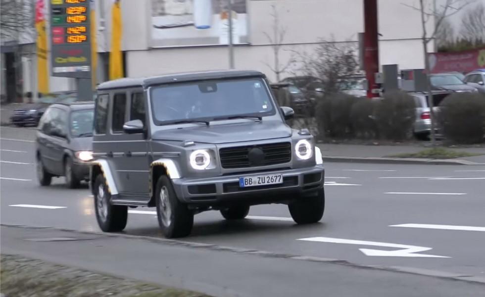 Mercedes-Benz G-Class 2019 1