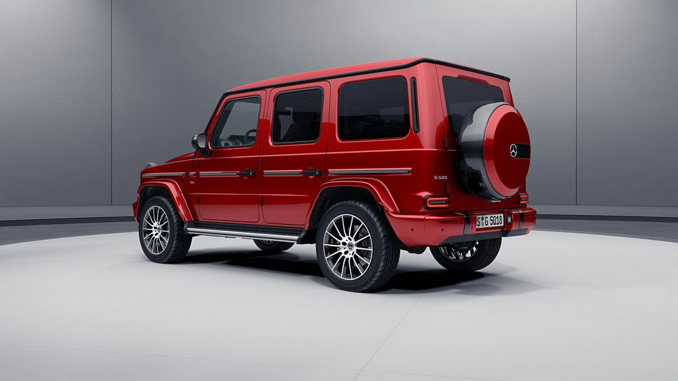Mercedes-Benz G-Class Night Package