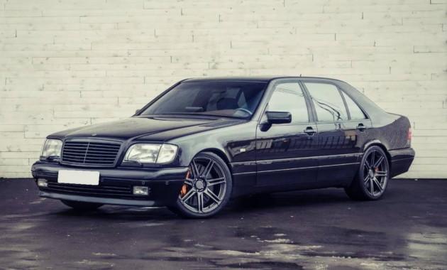 Benz S-Class 1997 года реализуют в столицеРФ