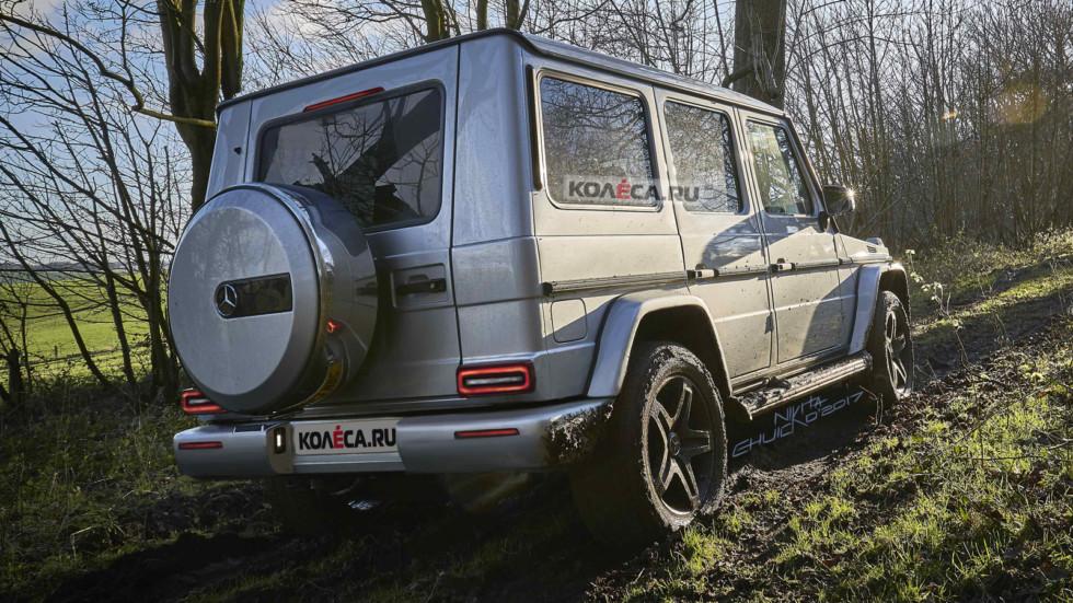 Mercedes G-rest rear1-1