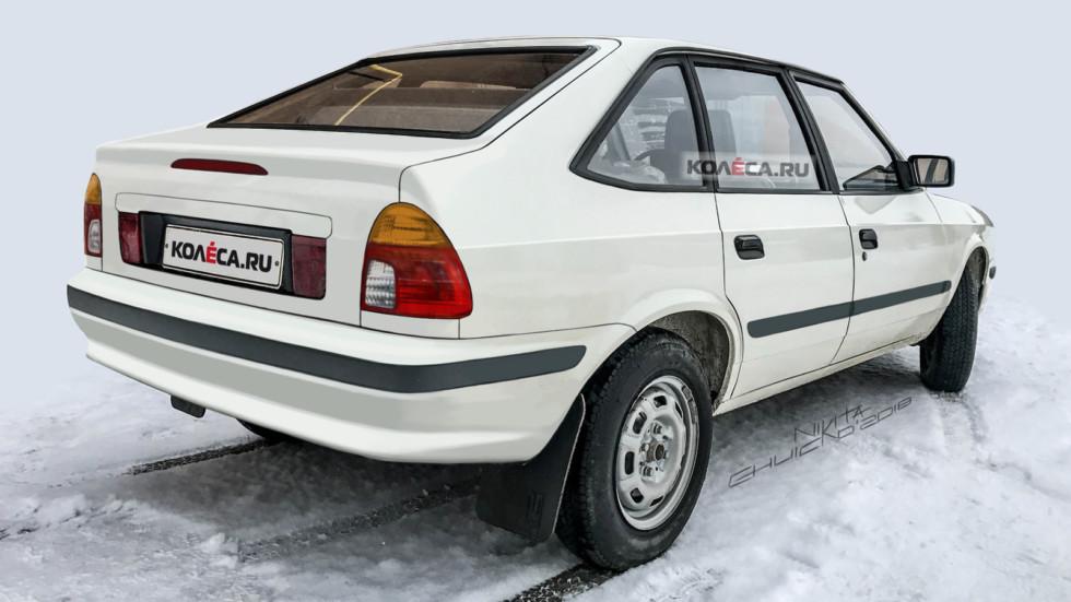 Moskvich rear2