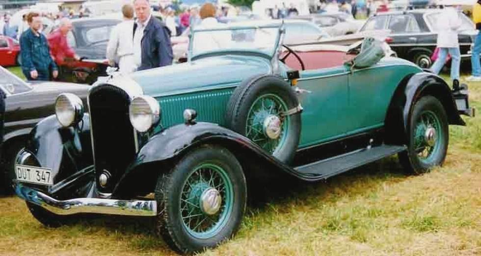 На фото: New Finer Plymouth 1932