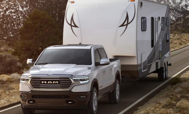 Пикап Ram 1500 2019 получил люксовое выполнение Laramie Longhorn